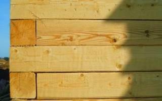Как правильно строить дом из бруса?