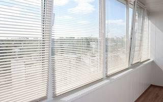 Как правильно поставить жалюзи на пластиковые окна?