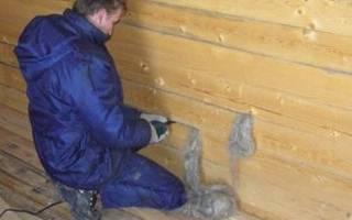 Как конопатить дом из бруса