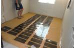 Как крепить фанеру к бетонному полу