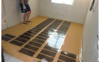 Как постелить фанеру на бетонный пол?