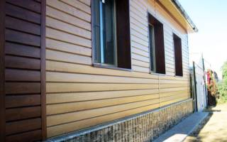 Чем обшить дом из бруса снаружи?