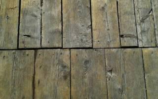 Чем выровнять старый деревянный пол?