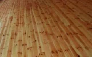 Чем покрасить деревянный пол в доме?