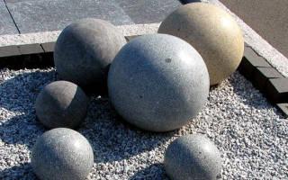 Как сделать шар из цемента