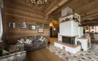 Как расположить печь в деревянном доме?
