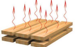 Камерная сушка древесины технология