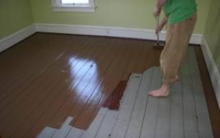 Чем можно покрыть пол в деревянном доме?