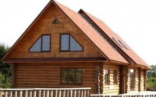 Как делать фронтоны в деревянном доме?