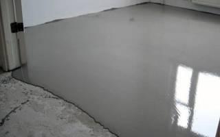 Чем можно выровнять бетонный пол?