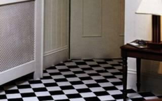 Как укладывать виниловую плитку на пол?