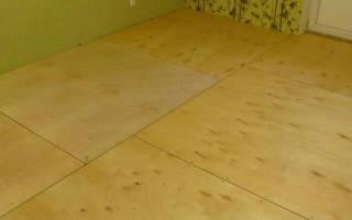 Как правильно укладывать фанеру на деревянный пол?