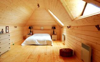 Чем покрасить деревянную вагонку внутри дома?