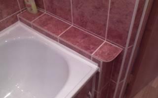 Как изолировать ванную от стены?