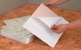 Как клеить виниловую плитку на пол?