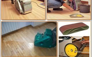 Какой шлифмашинкой лучше шлифовать деревянный пол?