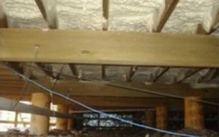 Чем утеплить подпол в деревянном доме?