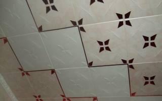 Как обновить потолок из пенопластовой плитки