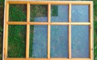 Как самому сделать раму для окна?