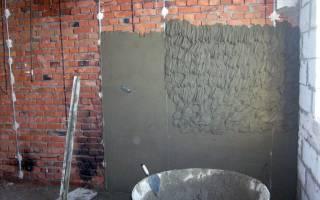 Как оштукатурить бетонную стену