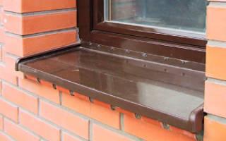 Как правильно крепить отливы на пластиковые окна?