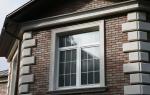 Как отделать окно снаружи