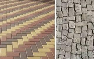Тротуарная плитка как выбрать