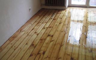 Как шлифовать деревянный пол?