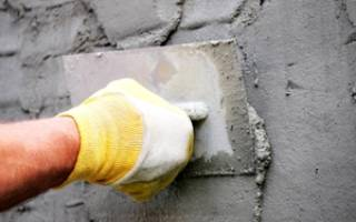 Как штукатурить цементной штукатуркой