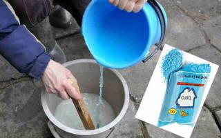 Как обработать доски медным купоросом?