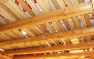 Чем обшить черновой потолок в частном доме?