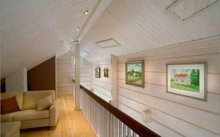 Чем красить имитацию бруса внутри дома?