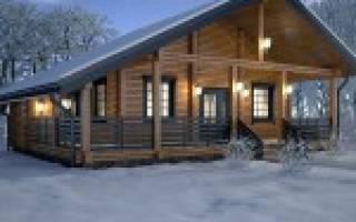 Оптимальная толщина бруса для зимнего дома
