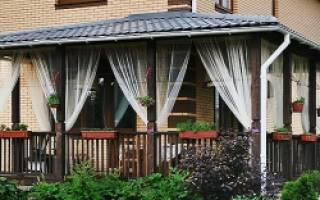 Как пристроить веранду к кирпичному дому