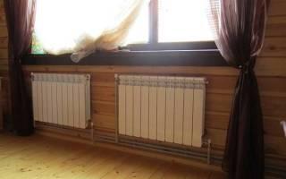 Как установить батареи отопления в частном доме?
