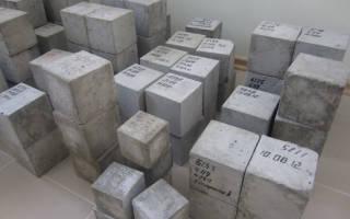 Как определить марку бетона