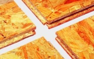 Как крепить ОСБ к бетонному полу?