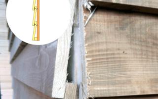 Как обшить дом доской елочкой?