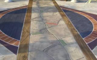 Что такое декоративный бетон
