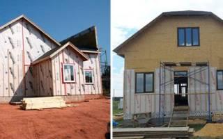 Ветрозащита для стен каркасного дома какая лучше?