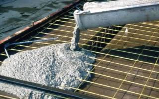 Сколько сохнет цементный раствор