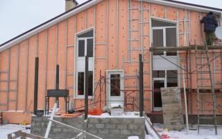 Утепление дома из бруса снаружи пеноплексом