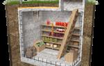 Как залить погреб бетоном
