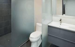 Как сделать перегородку в туалете