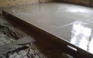 Как залить бетонную стяжку на деревянный пол?