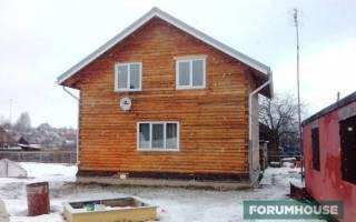 Утепление деревянного дома снаружи чем лучше?