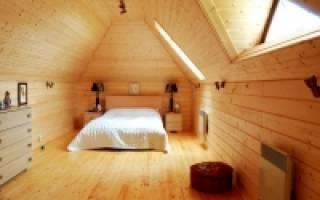 Как отделать мансардный этаж в частном доме?