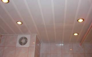 Как закрепить пластиковые панели на потолок?