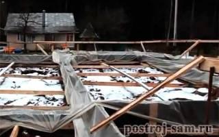 Как прогреть бетон зимой
