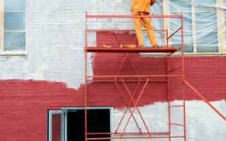 Как покрасить кирпичный дом
